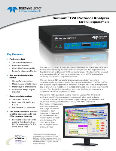 Summit T24 Analyzer