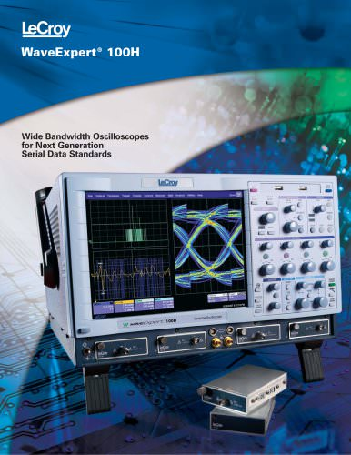 WaveExpert Sampling Oscilloscopes