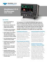 WaveMaster 8 Zi-B Oscilloscopes 4 GHz–30 GHz