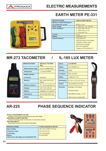 IL-185 Lux meter