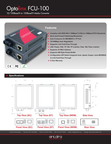 FCU-100SC