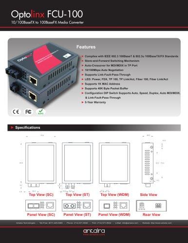FCU-100SC-S8