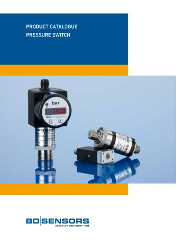 Product Catalogue - Pressure Switch
