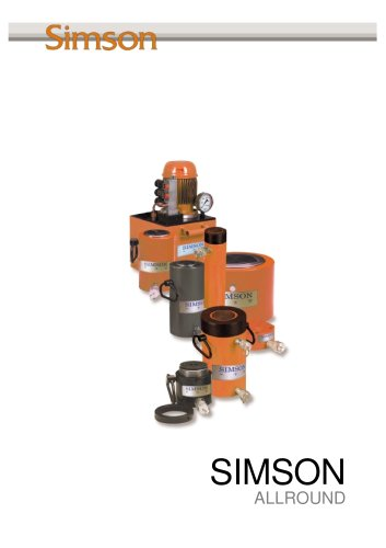 Simson Allround product catalogue