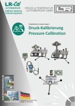 LR-Cal Pressure Calibrators and Test Pumps