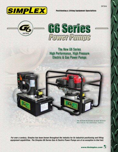 G6 Series Power Pumps