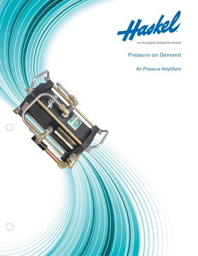 Air Pressure Amplifers