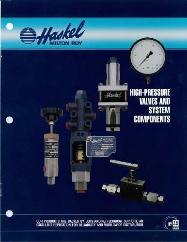 High Pressure Valves & System Components