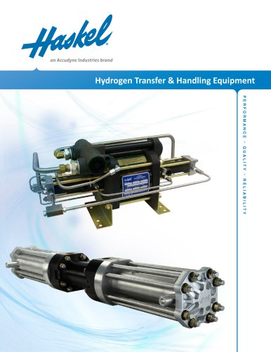Hydrogen Transfer & Handling Equipment