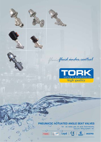 Tork Pneumatic Piston Valves