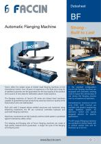 Faccin Automatic Flanging Machine BF Series