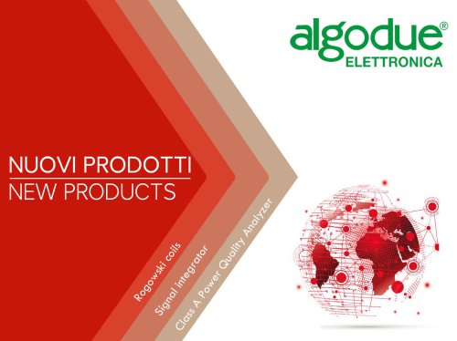 Algodue new products 2021 ENG
