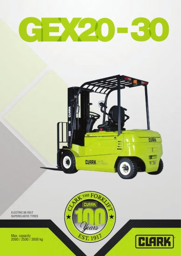 Electric four-wheel forklift GEX20-30sL