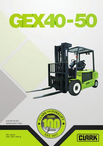 Electric four-wheel forklift GEX40-50