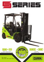 Forklift with diesel or LPG drive S20-35