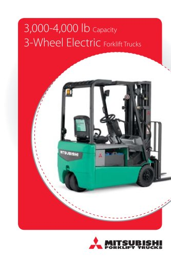 3,000-4,000 lb Capacity 3-Wheel