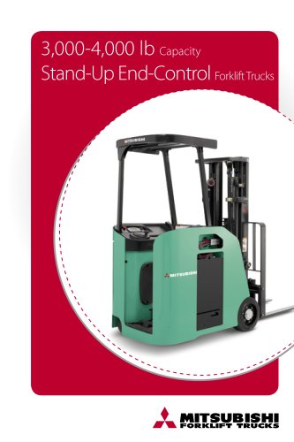 3,000-4,000 lb Capacity Stand-Up End Control