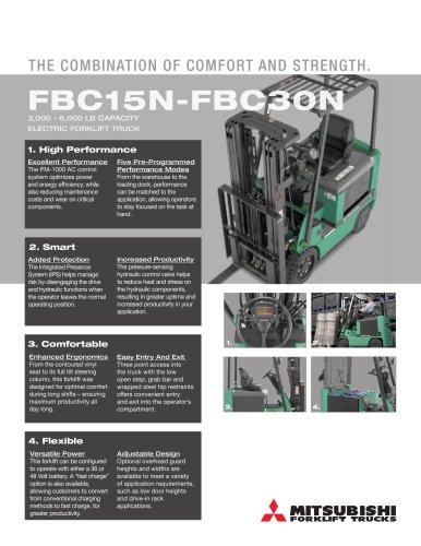 FBC15N-FBC30N 3000 - 6 000 lb capacity