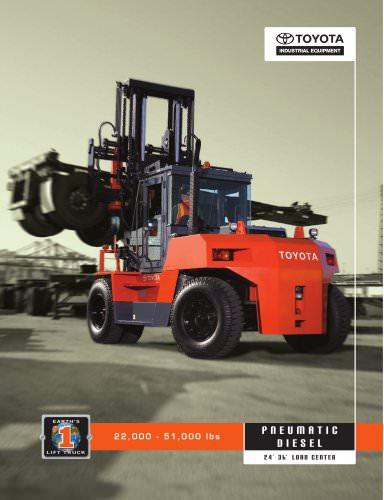 22,000-35,000 lbs. Large Capacity Pneumatic Tire