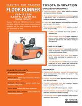 48-volt Tow Tractor