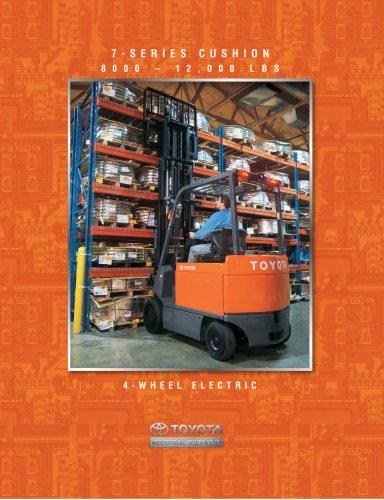 7-Series Electric 4-Wheel Large Capacity Cushion