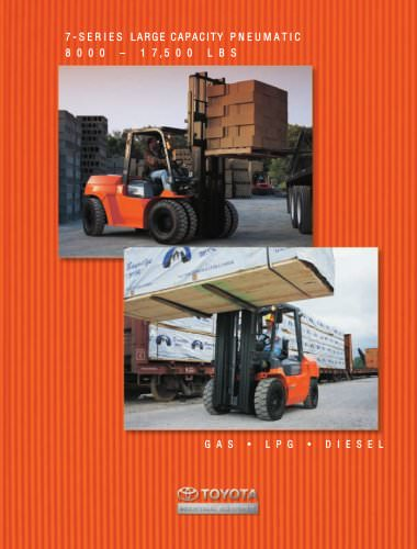 7-Series Large 8,000-17,500 lbs. Large Capacity Pneumatic Tire