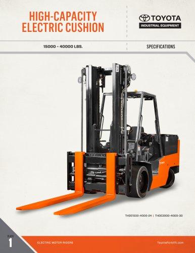 HIGH-CAPACITY ELECTRIC CUSHION