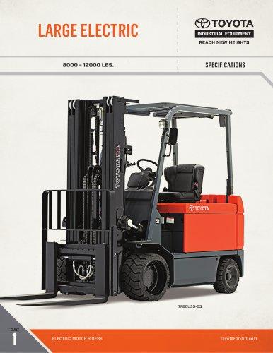 Large Electric Forklift
