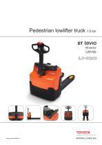 BT Levio W-series Pallet Trucks