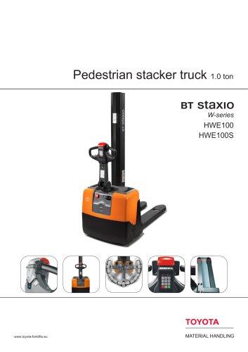 BT Staxio W-series Stacker Trucks