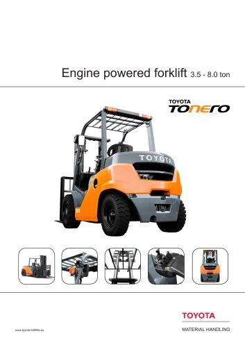 Toyota TONERO 3.5 - 8.0 ton