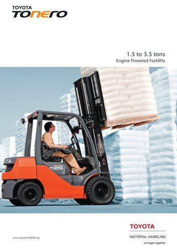 Toyota Tonero - TOYOTA Material Handling - PDF Catalogs