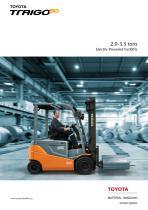 Toyota Traigo 80 brochure