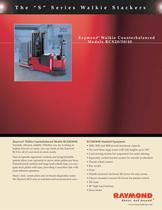 Walkie Counterbalanced RCS 20/30/40 Brochure