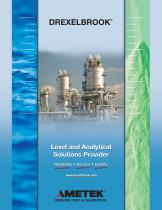 Drexelbrook Product Brochure - Your Level and Analytical Solutions Provider