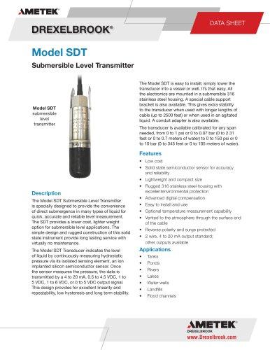 Model SDT