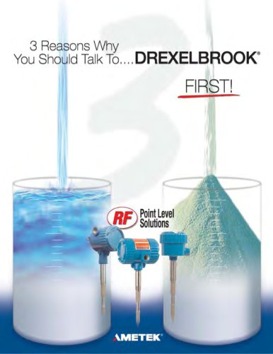 Point Level Measurement - Talk to Drexelbrook First