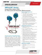 TDR Level Measurement TXXXX Series, Impulse