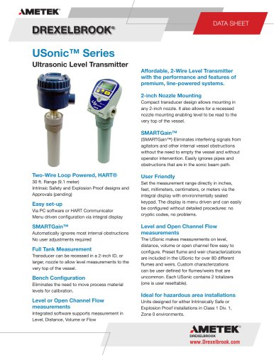USonic™ Series