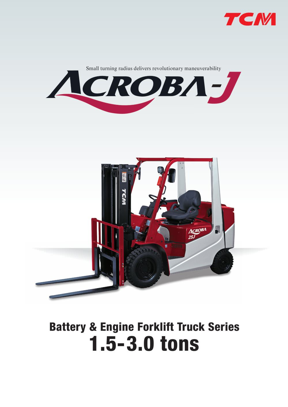 Acroba J Series Tcm Pdf Catalogue Technical Documentation Forklift Wiring Diagram 1 4 Pages