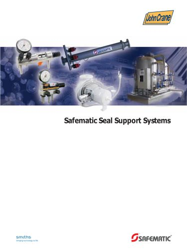 Safematic seal support systems