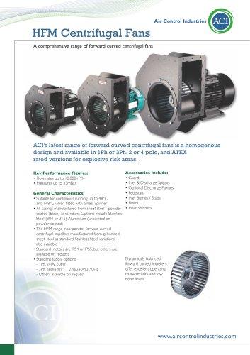 ACI HFM Modular Centrifugal Fans