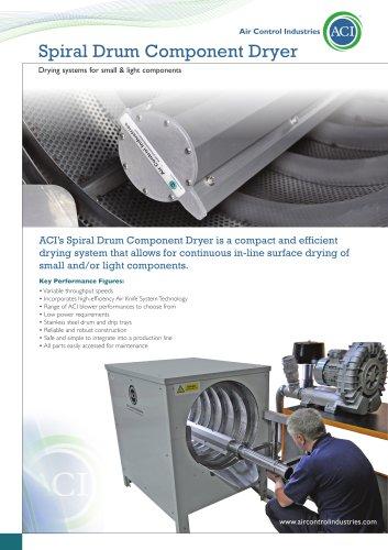 ACI Spiral Drum Component Dryer