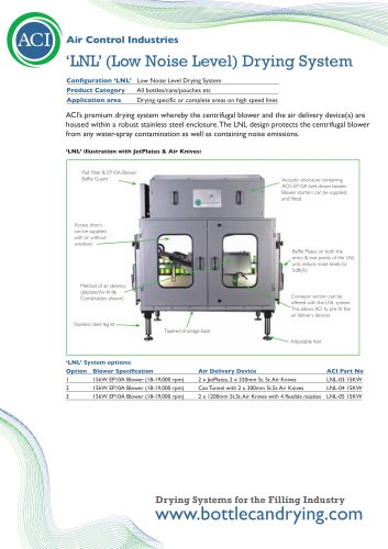 Bottle & Can Drying Systems