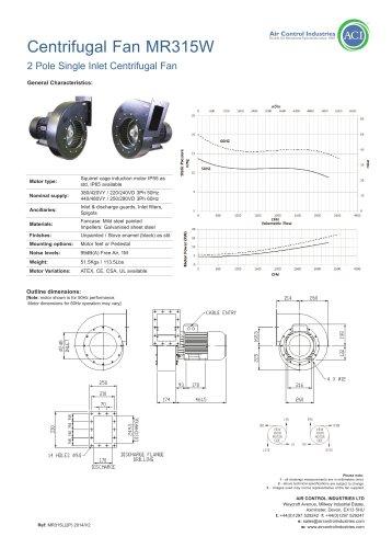 Centrifugal Fan MR315W