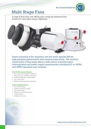 Multi-Stage Vacuum Blowers