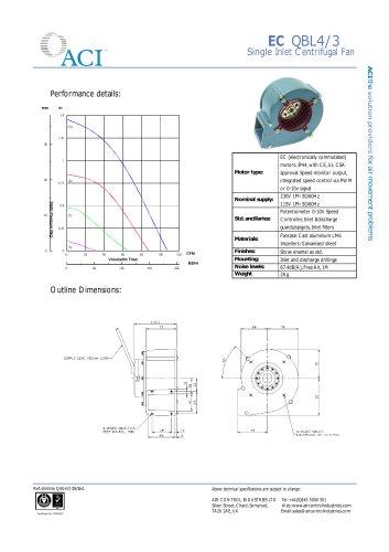 QB EC Slimline Catalogue
