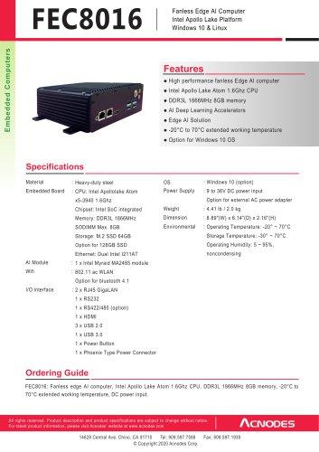FEC8016-SP