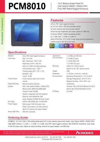 PCM8010-SP