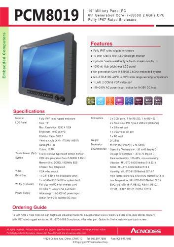 PCM8019